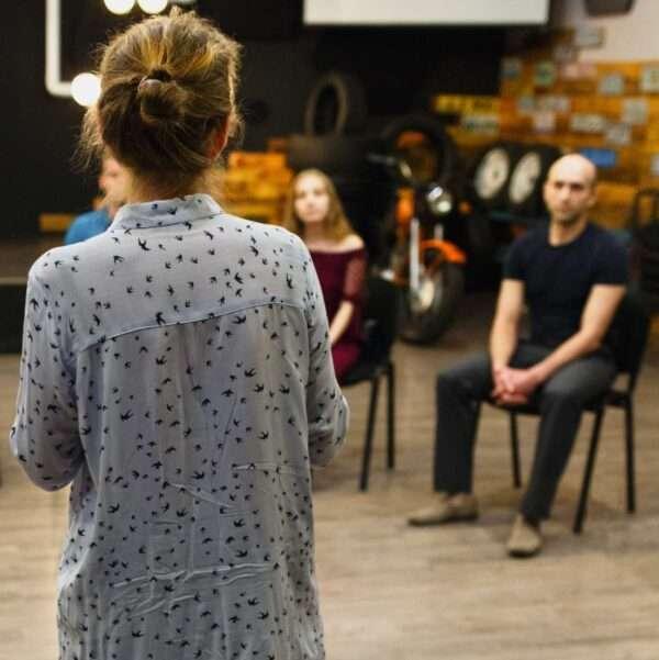 curso para educadores madrid 600x601 - Técnica Conectiva: Técnicas Teatrales Psicofísicas para Educadores.